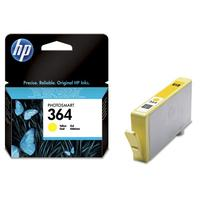 HP 364 originele ink cartridge geel standard capacity 3ml 300 pagina s 1-pack met Vivera inkt