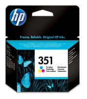 HP No 351 Inkt Cartridge CB337EE Tri-Color 3,5ml
