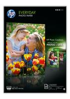 HP Everyday glanzend fotopapier, 25 vel, A4 200gr/m2
